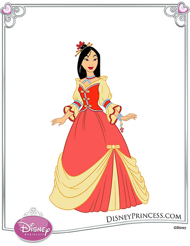 Dress clipart mulan Mulan com Disney Disney seen
