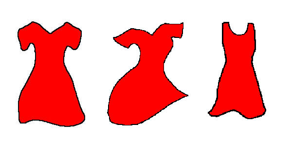 Red Dress clipart for kid #11