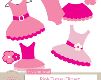 Pink Dress clipart silhouette Clipart Clipart Dress Pink Images