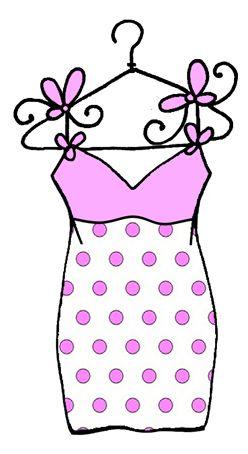Dress clipart pink polka dot Best 29 Pinterest on