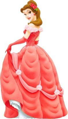 Red Dress clipart princess dress Princess red princess Belle com/Disney
