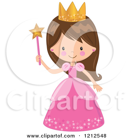 Beautiful clipart cute princess Cartoon Princess Girl a Halloween