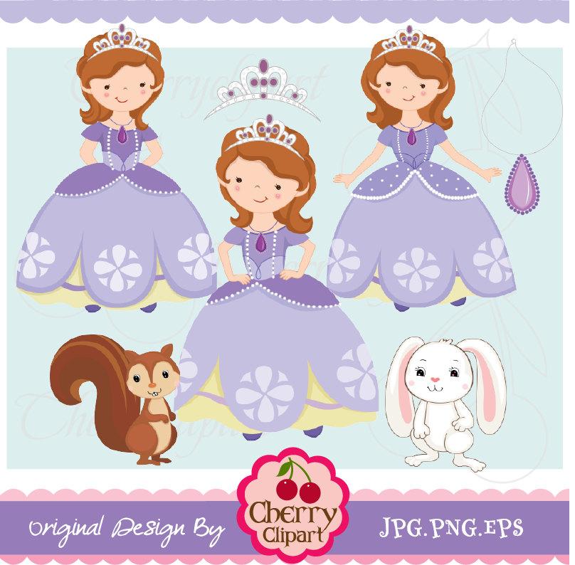 Gown clipart sofia the first Item? Princess Sofia Digital 3