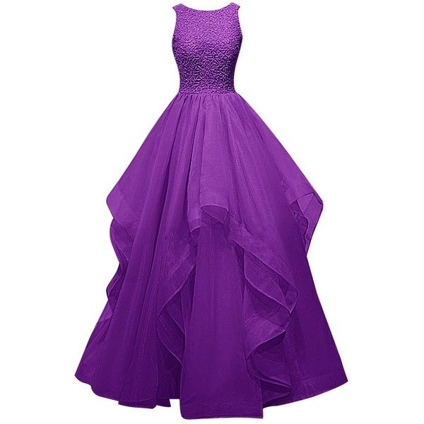 Dress clipart purple dress Prom Asymmetric (€110) Bridesmaid Dresstells
