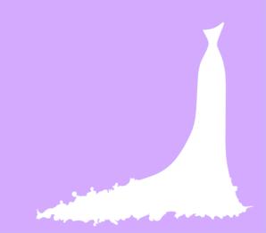 Dress clipart purple dress Clip Wedding Clker Dress Wedding