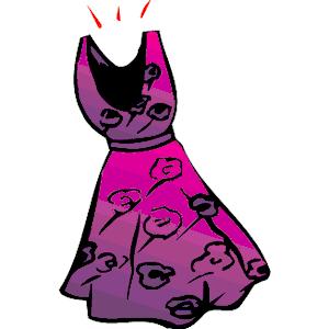 Dress clipart purple dress Clip Clipart Panda dress%20clipart Free