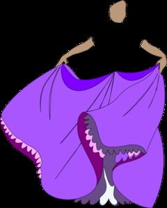 Dress clipart purple dress Dress  Face/body Dress Clip