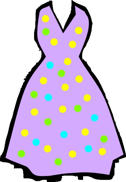 Dress clipart purple dress Image Purple Clker Dress Download