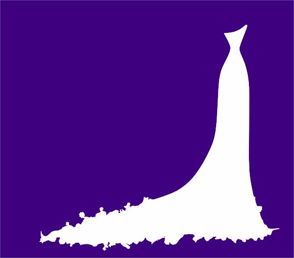 Dress clipart purple dress Image Bridal Clip Dress Download