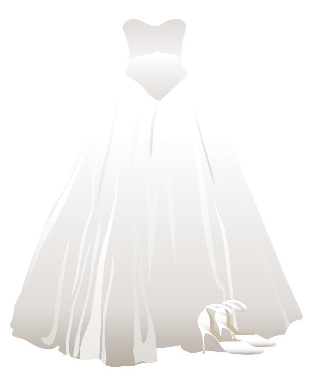 Wedding Dress clipart quinceanera dress Free Quinceanera Art Clip Art