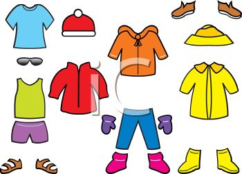 Dress clipart rainy Clothes And kids for clipart