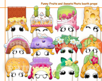 Dress clipart repair shop Characters PRINTABLE Booth Set Funny