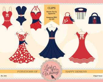 Dress clipart retro Clipart & Personal Art Patriotic