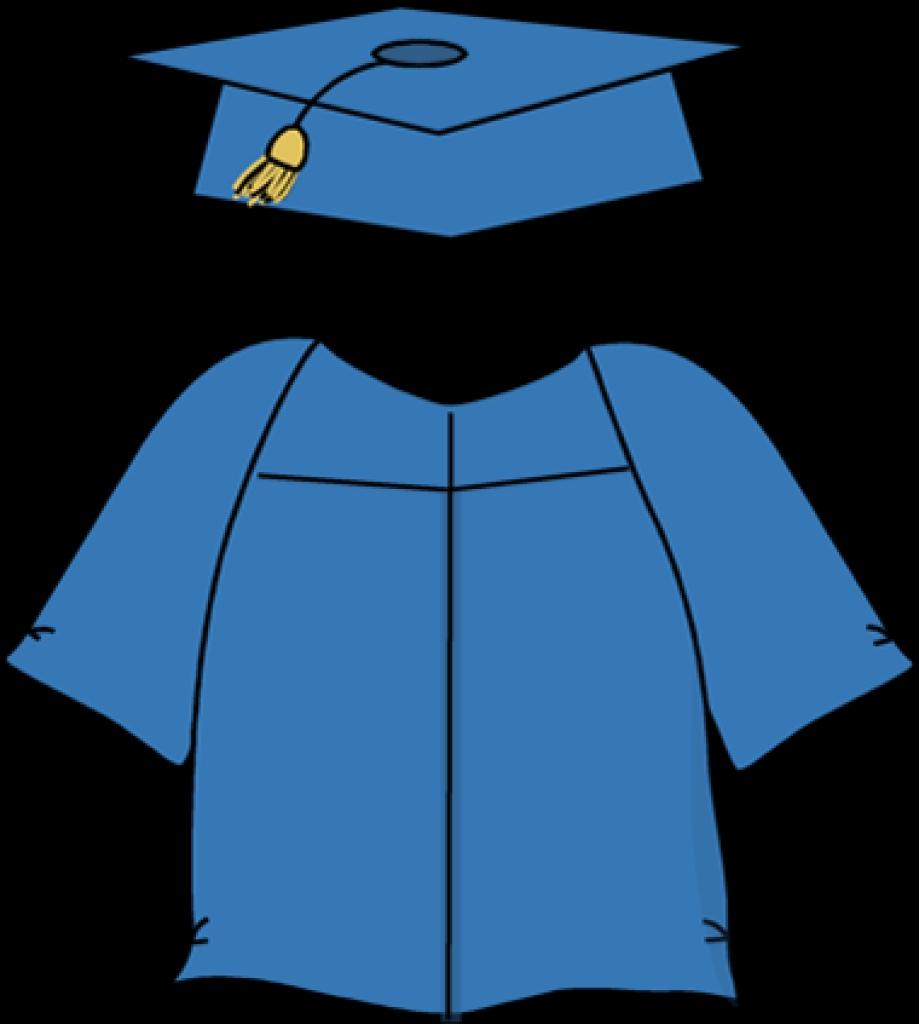 Dress clipart robe Art graduation gown robe cap