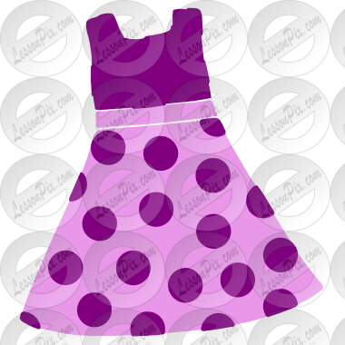 Dress clipart stencil Clipart / Dress Therapy Use