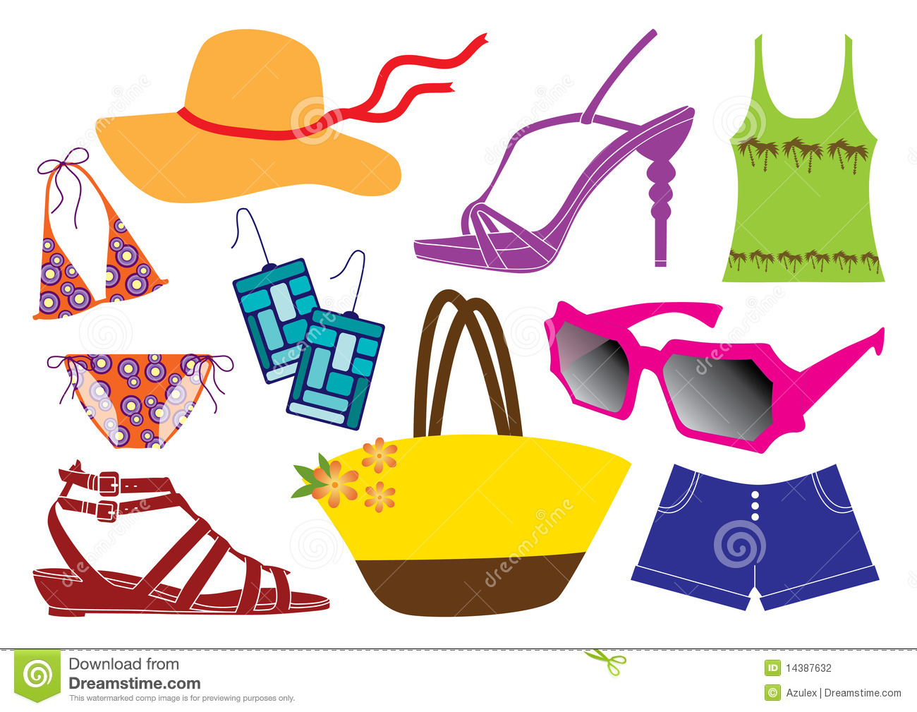 Dress clipart sunny Clipart Attire Summer cliparts Attire