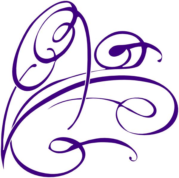 Dress clipart swirl Clker Swirl Art  Decorative
