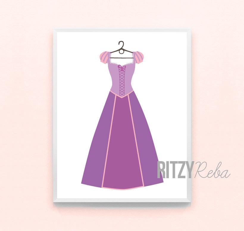 Dress clipart tangled Disney Rapunzel Princess  Tangled