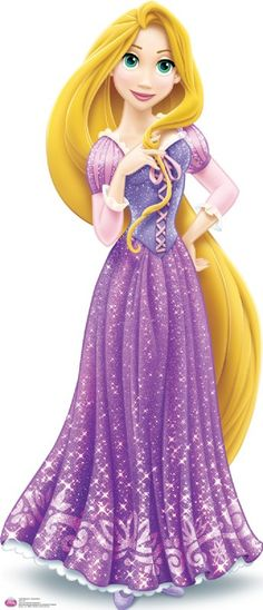 Dress clipart tangled Lifesized PNG Clipart Rapunzel Standup