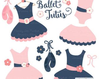 Dress clipart tutu dress Clip Navy Clip Art Pink