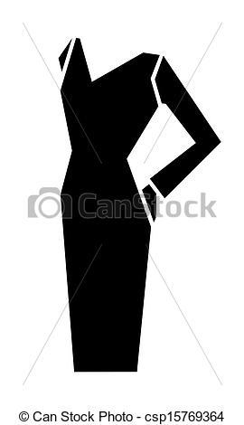 Dress clipart vector art  Vector of Vector vector