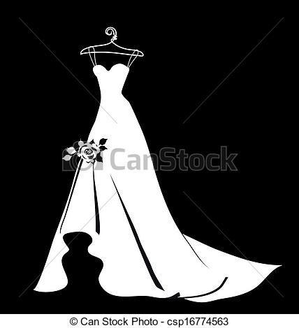 Dress clipart vector art Vector of Vector dress Search