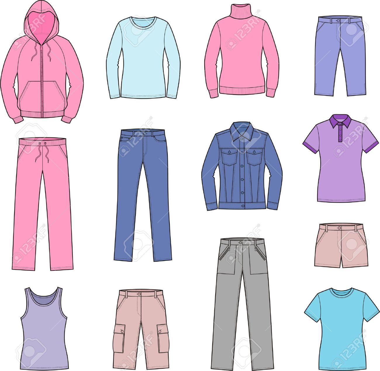 Shirt clipart shirt pants  women clipart dress: clothes