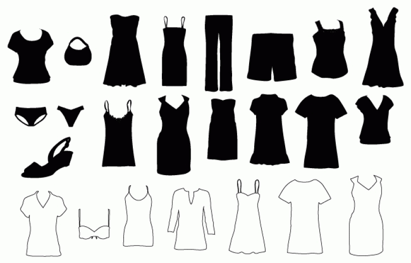 Dress clipart womens clothes Clothes 48 Free images Cliparting