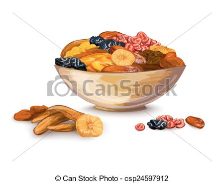 Dried Fruit clipart mixed Clip Fruits fruits of Art