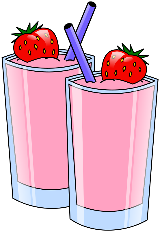 Beverage clipart straw Cocoa Strawberry and Pop Drinks