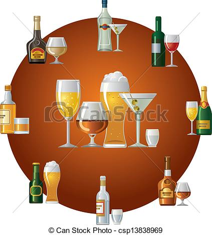 Alcohol clipart drink Alcoholic Elegant Download Alcoholic Drinks