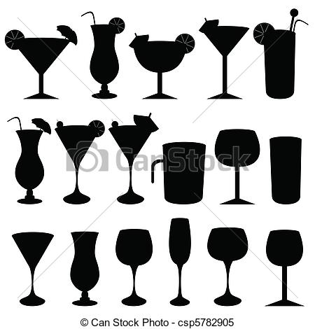 Boose clipart mixed drink Of csp5782905  Alcoholic glasses
