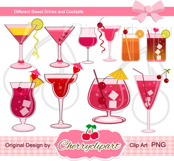 Drink clipart bar drink Sweet Digital for Drinks Clipart
