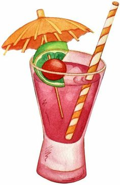 Beverage clipart summer drink Com Pinterest (pág para facilisimo