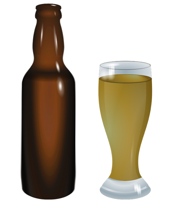 Beer clipart animation Cocktails Martinis Bottle Wine of