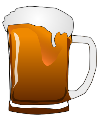 Alcohol clipart beer cup #1