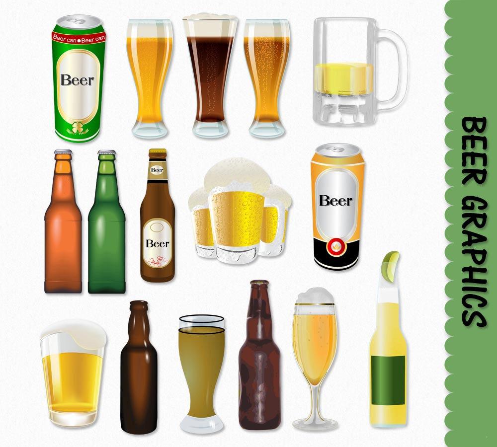 Boose clipart beer glass Beer Beer Graphics Etsy Download