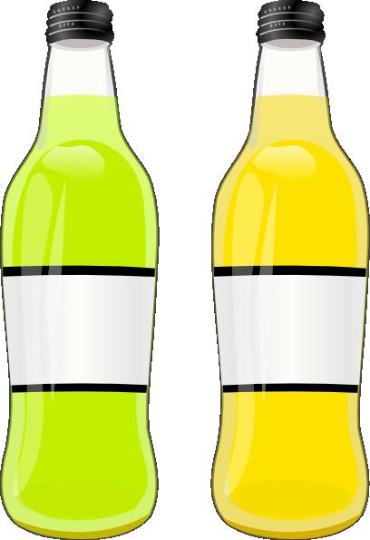 Bottle clipart lemonade bottle As: Clker image Art art