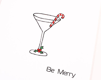 Drink clipart christmas drink Art cocktail Clip clipart Christmas