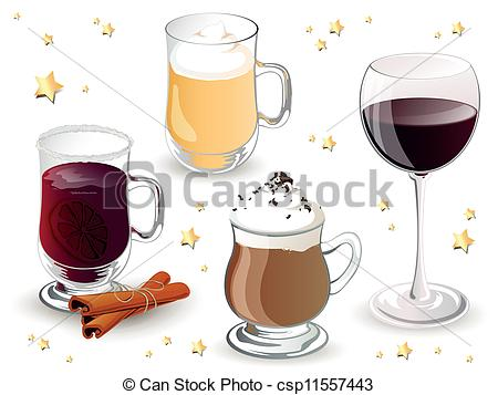 Drink clipart christmas drink Drinks Vector Christmas Christmas Drinks