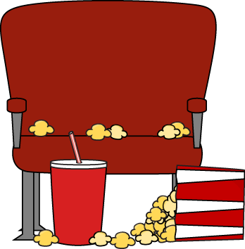 Drink clipart take away Theater Clip Movie Empty Art