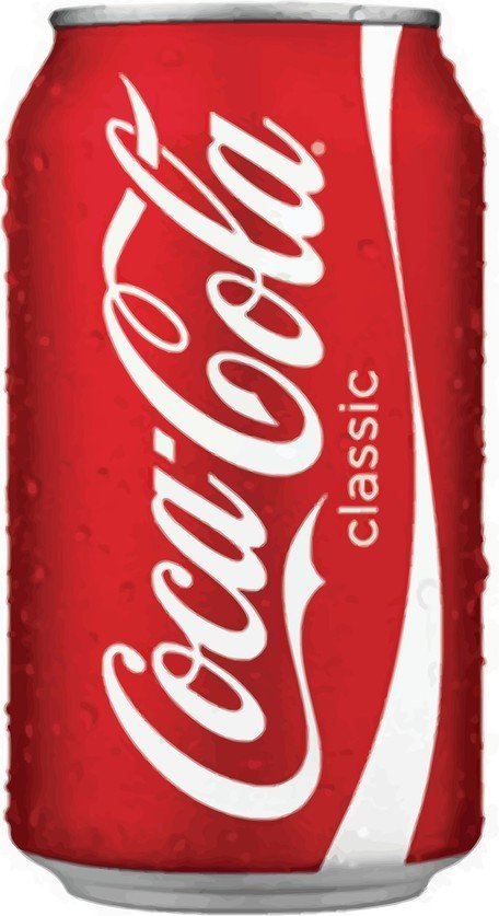 Drink clipart coca Vector Graphic Can Coke Coke