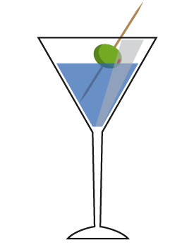 Alcohol clipart martini glass Mixed clipart Free glass Pictures