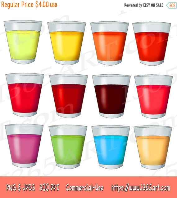 Drink clipart cup juice On Fruit Clip OFF Clipart