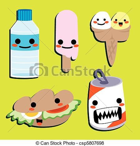 Drink clipart cute Cute Cute of Food a