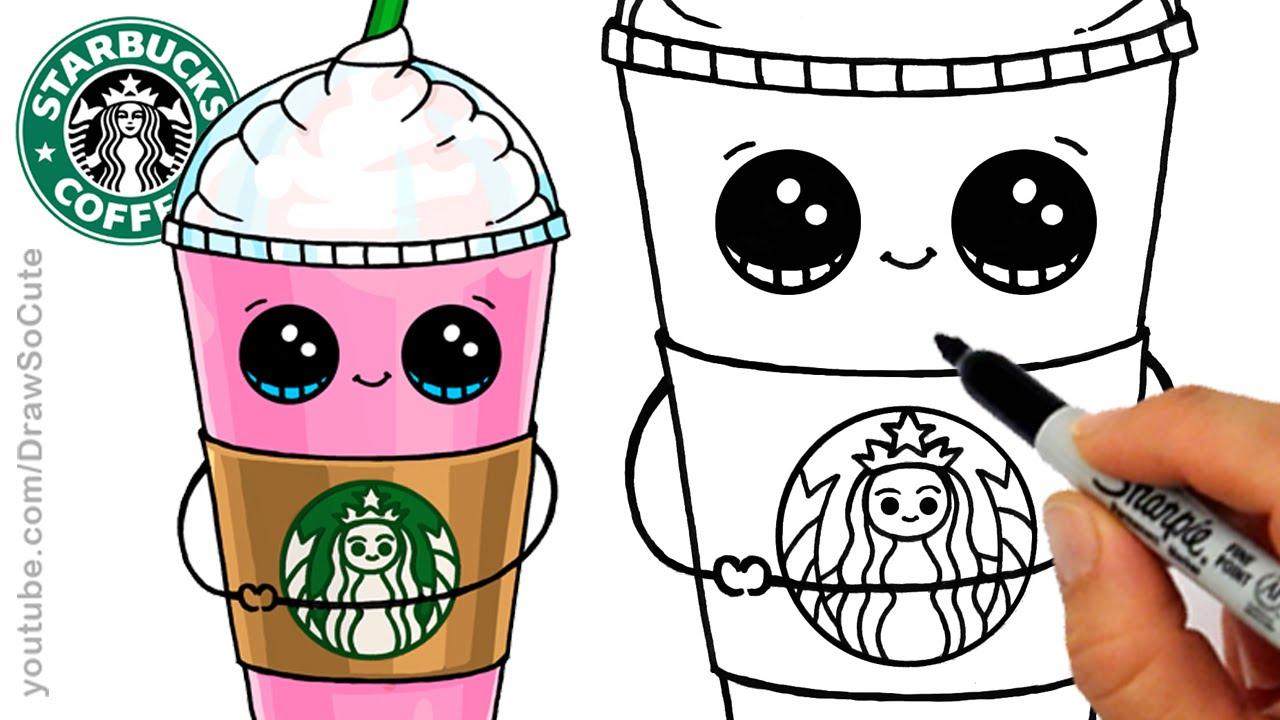 Drink clipart cute cartoon A Cute Cartoon Starbucks to
