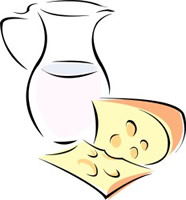 Cheese clipart milk and cheese Clipart Clipart Products  Dairy