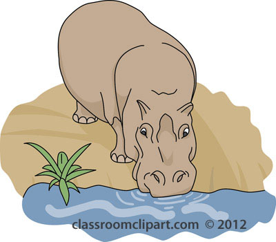 Animal clipart drink water Drinking Clipart collection drinking Animal
