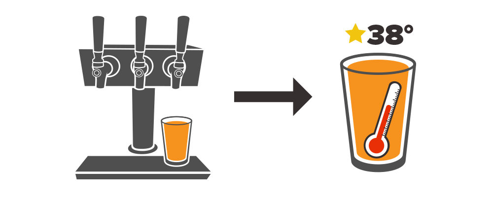 Drink clipart draft beer Affects How Temperature temperature dispense