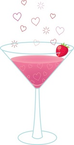 Floating clipart background Clipart Pink Drinks Alcoholic Download